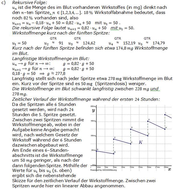 Abitur allg. bildendes Gymnasium Wahlteil Analysis 2007-11c Lösung Bild 1/© by www.fit-in-mathe-online.de