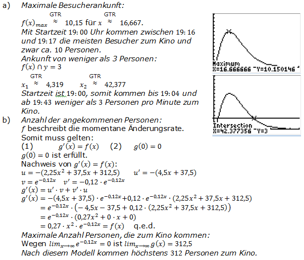 Abitur allg. bildendes Gymnasium Wahlteil Analysis 2007-22 Lösung Bild 4/© by www.fit-in-mathe-online.de