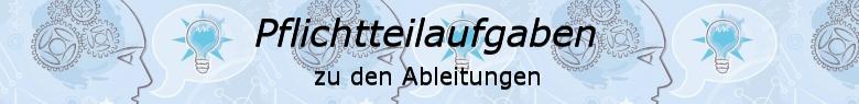 Pflichtteilaufgaben Abitur allgemeinbildendes bildendes Gymnasium zu Gleichungen/© by www.fit-in-mathe-online.de