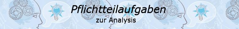 Pflichtteilaufgaben Abitur allgemeinbildendes bildendes Gymnasium zur Analysis/© by www.fit-in-mathe-online.de