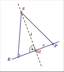 Lösungs-Graphik zur Abituraufgabe allg. bildendes Gymnasium Pflichtteilaufgaben 'Analytische Geometrie' 2007-3/© by www.fit-in-mathe-online.de