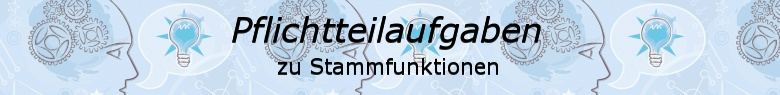 Pflichtteilaufgaben Abitur allgemeinbildendes bildendes Gymnasium zu Integral und Stammfunktion/© by www.fit-in-mathe-online.de
