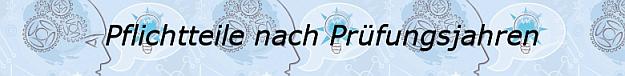 Pflichtteile Abitur allgemeinbildendes bildendes Gymnasium nach Prüfungsjahren ab 2004/© by www.fit-in-mathe-online.de
