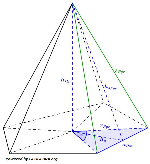 Besondere Pyramiden II Wahlteilaufgaben Realschulabschluss