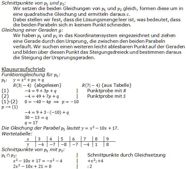 Wahlteil 2013 Realschulabschluss   Fit in Mathe