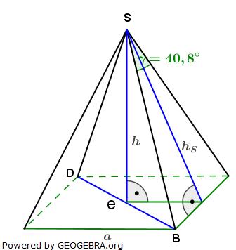 quadratische pyramiden realschulabschluss pflichtteilaufgaben. Black Bedroom Furniture Sets. Home Design Ideas