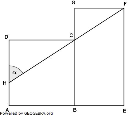 Realschulabschluss Pflichtteilaufgaben Trigonometrie Aufgabengraphik P22010/© by www.fit-in-mathe-online.de