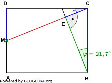 Realschulabschluss Trigonometrie Pflichtteil P22011 Lösungs-Graphik/© by www.fit-in-mathe-online.de