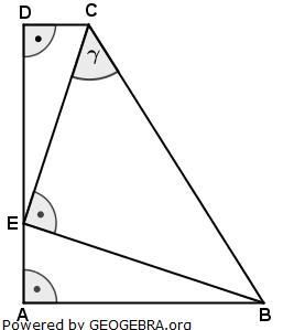 Realschulabschluss Pflichtteilaufgaben Trigonometrie Aufgabengraphik P12013/© by www.fit-in-mathe-online.de