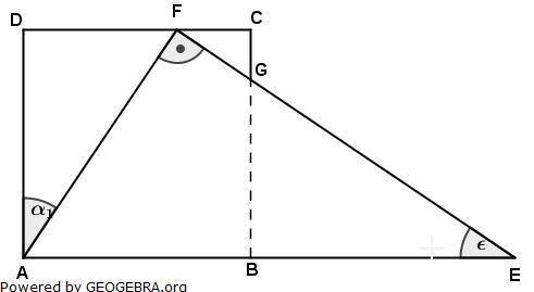 Realschulabschluss Pflichtteilaufgaben Trigonometrie Aufgabengraphik P22013/© by www.fit-in-mathe-online.de