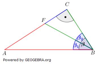 Realschulabschluss Trigonometrie Pflichtteil P12017 Lösungs-Graphik/© by www.fit-in-mathe-online.de