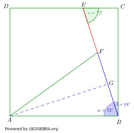 Realschulabschluss Trigonometrie Pflichtteil P22017 Lösung-Graphik/© by www.fit-in-mathe-online.de
