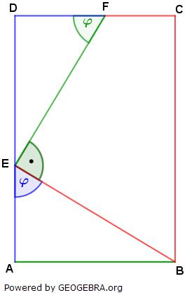 Realschulabschluss Trigonometrie Pflichtteil P19101 Lösungs-Graphik/© by www.fit-in-mathe-online.de