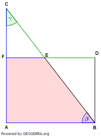 Realschulabschluss Trigonometrie Pflichtteil P22019 Lösungs-Graphik/© by www.fit-in-mathe-online.de