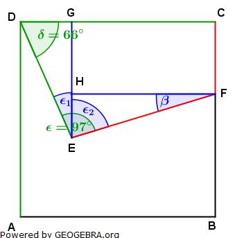 Realschulabschluss Trigonometrie Wahlteil W1a2010 Lösungs-Graphik/© by www.fit-in-mathe-online.de