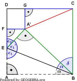 Realschulabschluss Trigonometrie Wahlteil W4b2010 Lösungs-Graphik umständlich/© by www.fit-in-mathe-online.de