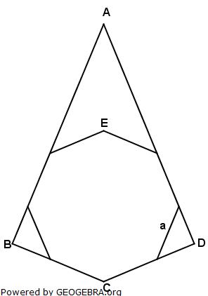 Realschulabschluss Wahlteilaufgaben Trigonometrie Aufgabengraphik W1b2011/© by www.fit-in-mathe-online.de