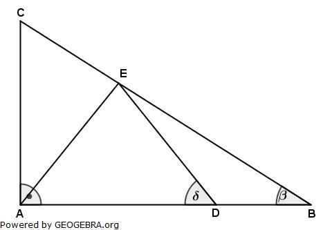 Realschulabschluss Wahlteilaufgaben Trigonometrie Aufgabengraphik W1a2013/© by www.fit-in-mathe-online.de