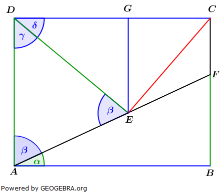 Realschulabschluss Trigonometrie Wahlteil W1a2014 Lösungs-Graphik umständlich/© by www.fit-in-mathe-online.de