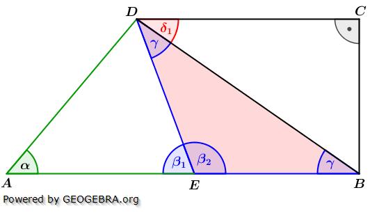 Realschulabschluss Trigonometrie Wahlteil W1a2015 Lösungs-Graphik/© by www.fit-in-mathe-online.de
