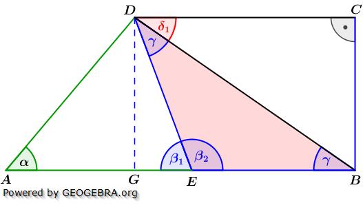 Realschulabschluss Trigonometrie Wahlteil W1a2015 Lösungs-Graphik umständlich/© by www.fit-in-mathe-online.de