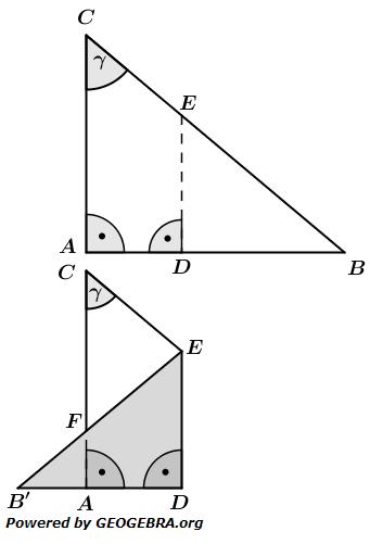 Realschulabschluss Wahlteilaufgaben Trigonometrie Aufgabengraphik W1b2016/© by www.fit-in-mathe-online.de