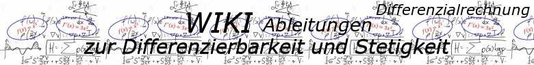 WIKI Differenzierbarkeit und Stetigkeit / © by Fit-in-Mathe-Online.de