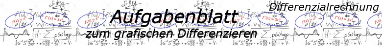 Grafisches Differenzieren - Aufgabenblätter/© by www.fit-in-mathe-online.de