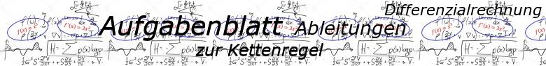 Ableitungen Kettenregel - Aufgabenblätter/© by www.fit-in-mathe-online.de