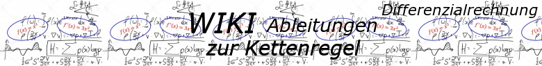 WIKI zur Kettenregel der Ableitungen / © by Fit-in-Mathe-Online.de