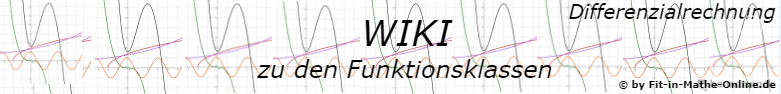 WIKI Funktionsklassen der Differenzialrechnung / © by Fit-in-Mathe-Online.de