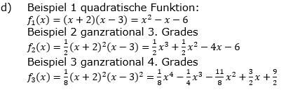 Ganzrationale Funktionen Lösungen zum Aufgabensatz 1 Blatt 1/3 Grundlagen Bild 10/© by www.fit-in-mathe-online.de