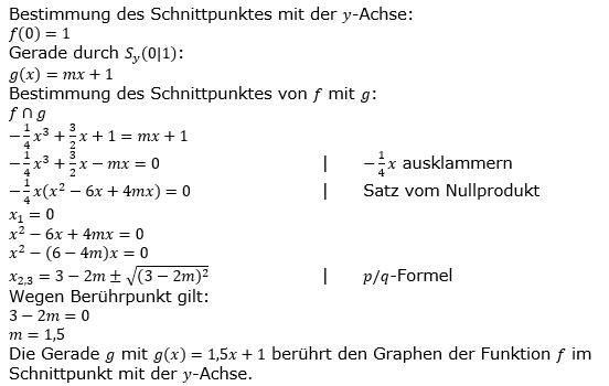 Ganzrationale Funktionen Lösungen zum Aufgabensatz 5 Blatt 1/5 Grundlagen Bild 1/© by www.fit-in-mathe-online.de