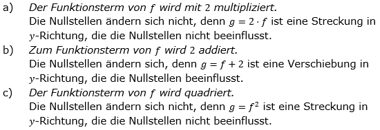 Ganzrationale Funktionen Lösungen zum Aufgabensatz 9 Blatt 2/1 Fortgeschritten Bild 1/© by www.fit-in-mathe-online.de