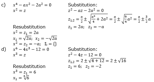 Ganzrationale Funktionen Lösungen zum Aufgabensatz 4 Blatt 2/2 Fortgeschritten Bild 2/© by www.fit-in-mathe-online.de