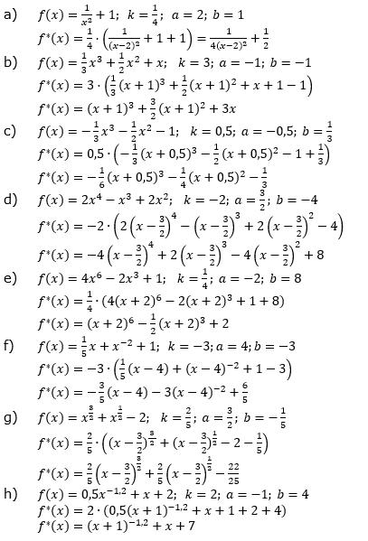 Ganzrationale Funktionen Lösungen zum Aufgabensatz 2 Blatt 2/4 Fortgeschritten Bild 1/© by www.fit-in-mathe-online.de