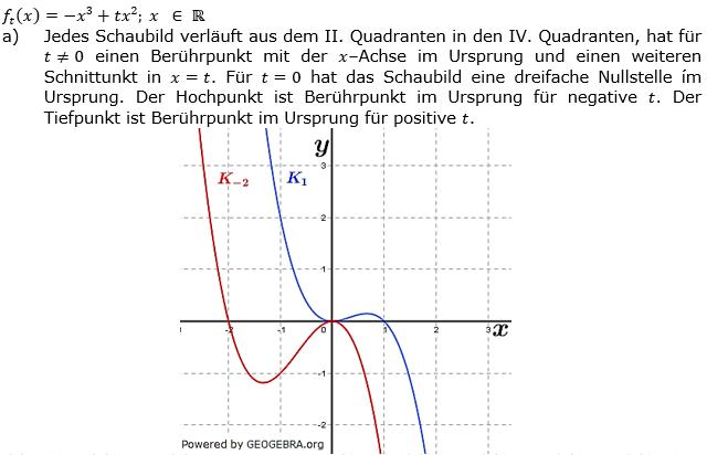 Ganzrationale Funktionen Lösungen zum Aufgabensatz 2 Blatt 3/1 Expert Bild 1/© by www.fit-in-mathe-online.de