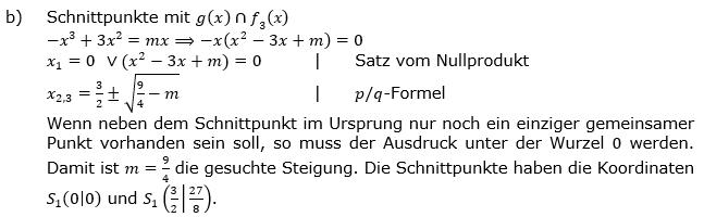 Ganzrationale Funktionen Lösungen zum Aufgabensatz 2 Blatt 3/1 Expert Bild 2/© by www.fit-in-mathe-online.de