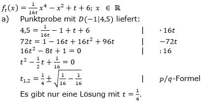 Ganzrationale Funktionen Lösungen zum Aufgabensatz 5 Blatt 3/1 Expert Bild 1/© by www.fit-in-mathe-online.de