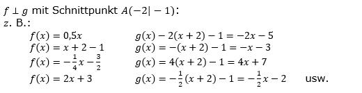 Lineare Funktionen der Funktionsklassen. Lösungen zum Aufgabensatz 7 Blatt 2/1 Fortgeschritten Bild 1 /© by www.fit-in-mathe-online.de