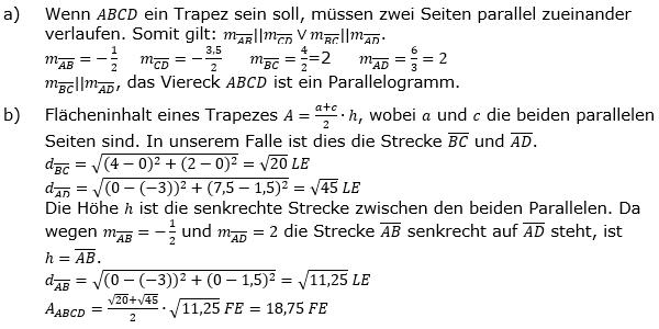 Lineare Funktionen der Funktionsklassen. Lösungen zum Aufgabensatz 4 Blatt 2/2 Fortgeschritten Bild 1 /© by www.fit-in-mathe-online.de