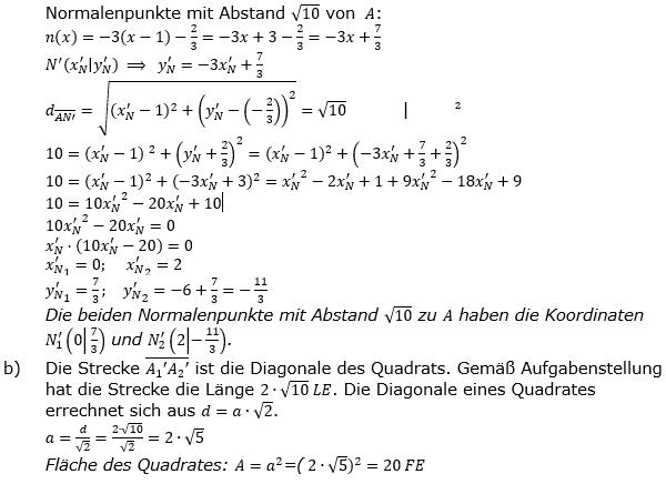Lineare Funktionen der Funktionsklassen. Lösungen zum Aufgabensatz 5 Blatt 2/2 Fortgeschritten Bild 2 /© by www.fit-in-mathe-online.de
