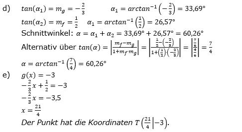 Lineare Funktionen der Funktionsklassen. Lösungen zum Aufgabensatz 10 Blatt 2/3 Fortgeschritten Bild 2 /© by www.fit-in-mathe-online.de
