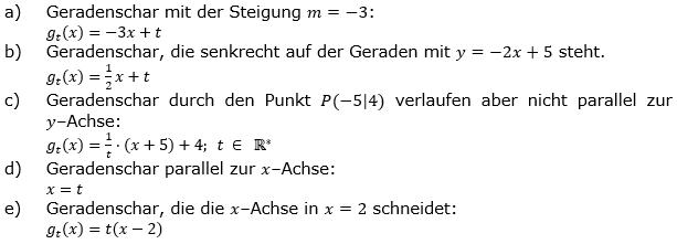 Lineare Funktionen der Funktionsklassen. Lösungen zum Aufgabensatz 5 Blatt 3/4 Expert Bild1 /© by www.fit-in-mathe-online.de)