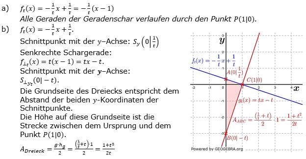 Lineare Funktionen der Funktionsklassen. Lösungen zum Aufgabensatz 3 Blatt 3/5 Expert Bild1 /© by www.fit-in-mathe-online.de)