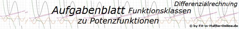 Potenzfunktionen der Funktionsklassen Aufgaben und Lösungen/© by www.fit-in-mathe-online.de