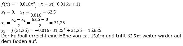 Quadratische Funktionen (Parabelön) der Funktionsklassen. Lösungen zum Aufgabensatz 10 Blatt 1/3 Grundlagen Bild 1 /© by www.fit-in-mathe-online.de