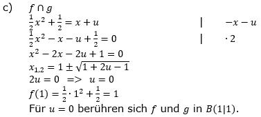 Quadratische Funktionen (Parabeln) der Funktionsklassen. Lösungen zum Aufgabensatz 05 Blatt 1/4 Grundlagen Bild 2 /© by www.fit-in-mathe-online.de