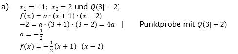Quadratische Funktionen (Parabeln) der Funktionsklassen. Lösungen zum Aufgabensatz 08 Blatt 1/4 Grundlagen Bild 1 /© by www.fit-in-mathe-online.de