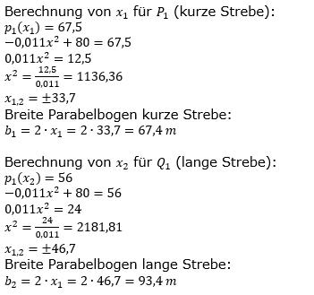 Quadratische Funktionen der Funktionsklassen. Lösungen zum Aufgabensatz 08 Blatt 2/1 Fortgeschritten Bild 3 /© by www.fit-in-mathe-online.de